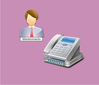 mantenimiento telefonía