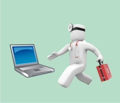reparación netbook
