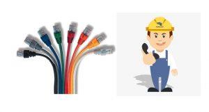 técnico de redes de cable