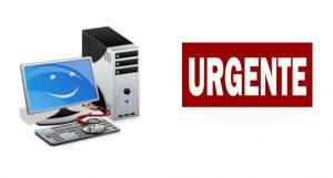 técnicos urgencia equipos informáticos