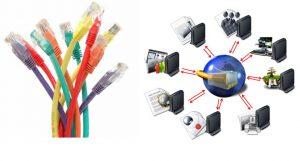 entubar redes ethernet