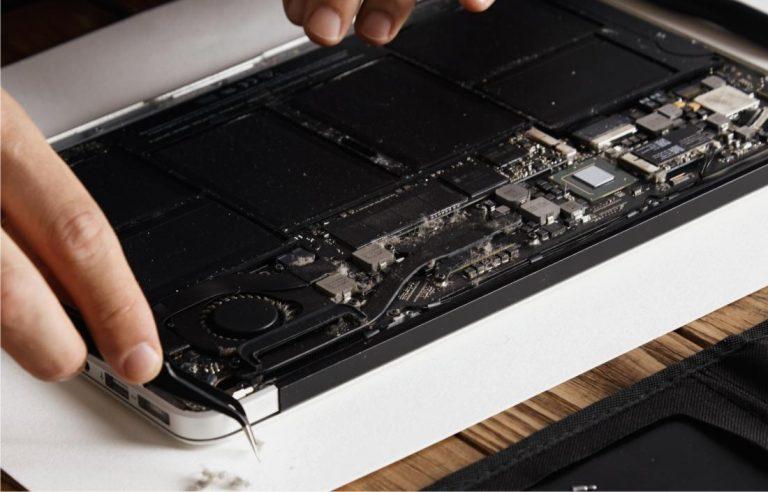 cambiar batería portátil