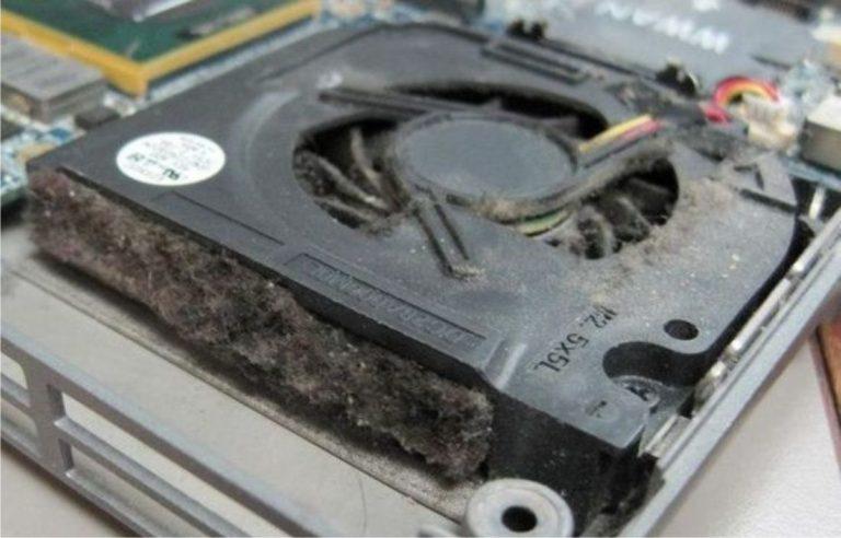 limpieza ventilador portátil
