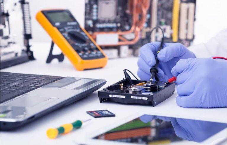 portátil mojado solución servicio técnico