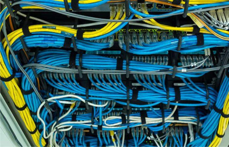 reparación conexionado red informática interna