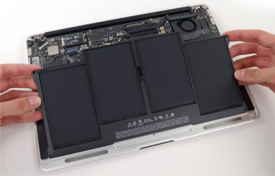 sustituir batería portátil macintosh pc