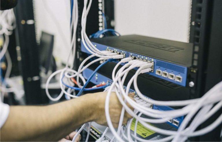 tendido cable ethernet cat 6 7 8