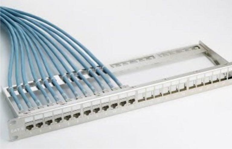 tendido cable informático naves industriales
