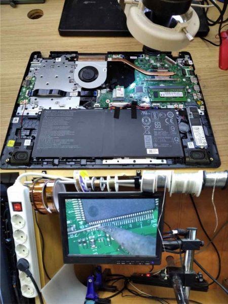 taller de chequeo de dispositivos informáticos